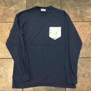 Men's Fraternity Collection L/S T-Shirt Size Med